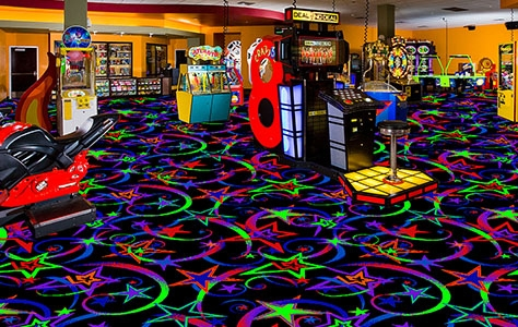 Fluorescent Carpet The Brightest Impact Available